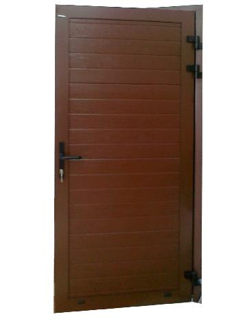 Boczne drzwi garażowe