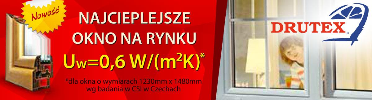 Najcieplejsze Okno Warszawa Drutex